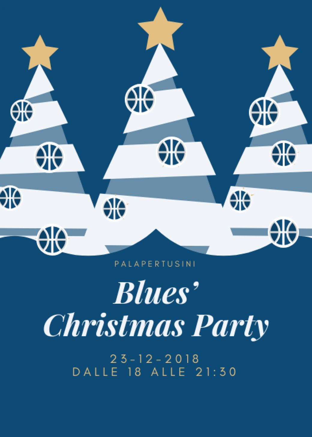 Blues' Christmas Party