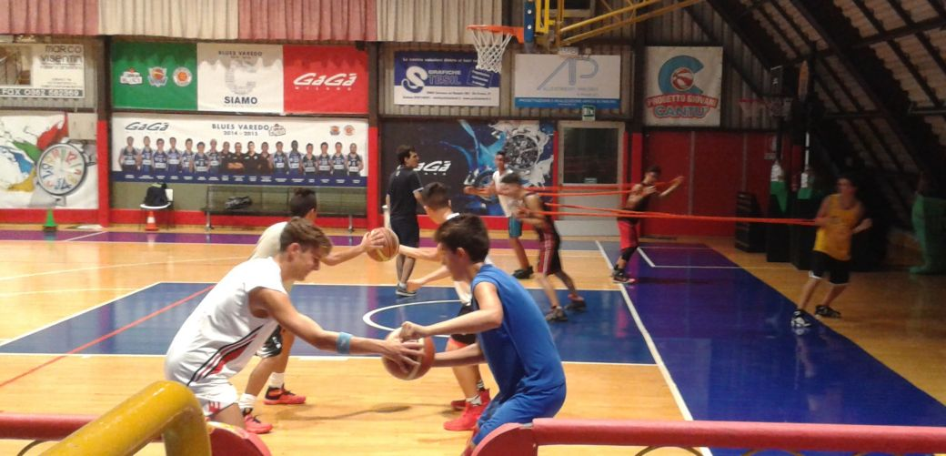 ...NUOVI U18 AT WORK...